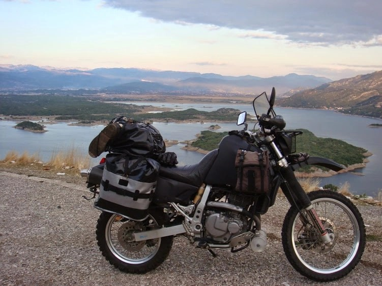 round the world motorcycle