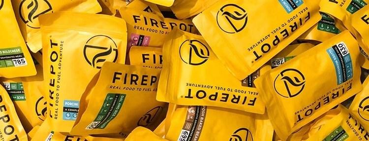 firepot dehydrated meals