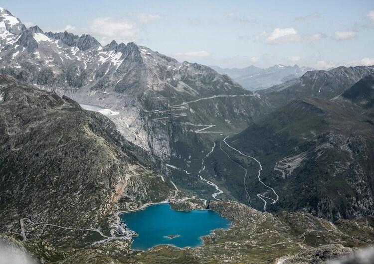 switzerland's big 3 mountain passes