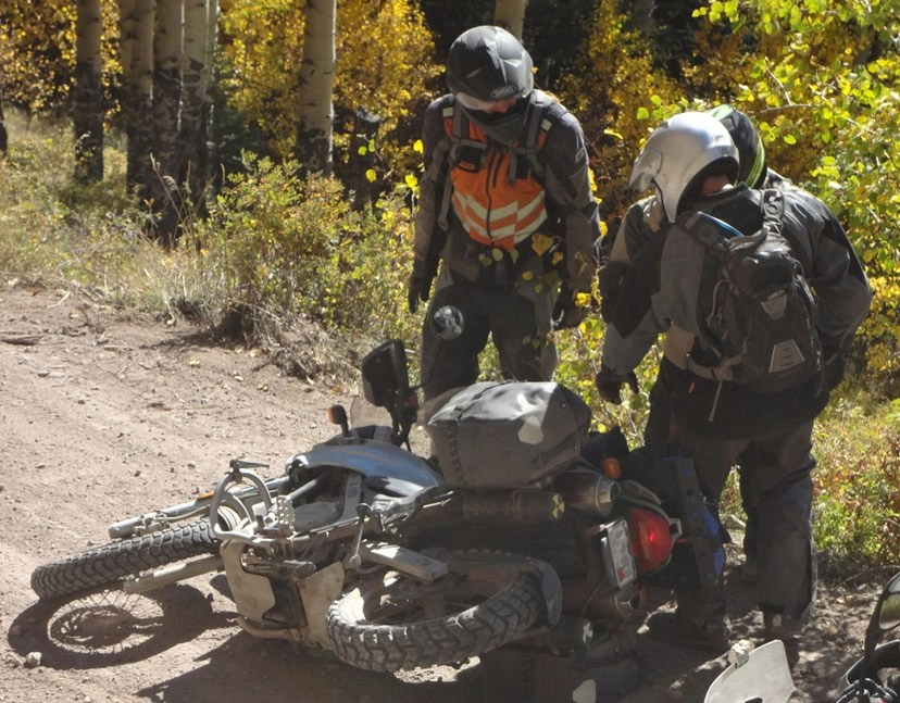 adventure bike drop