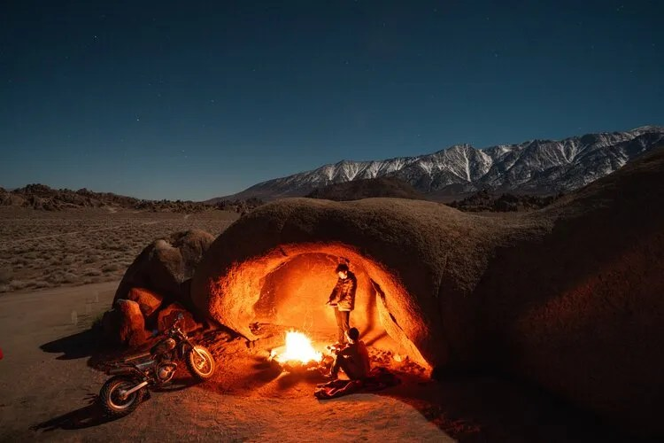 how to motorcycle camp 2 up