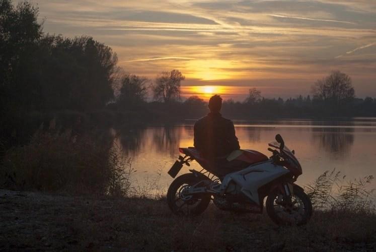 self-indulgent motorcycle touring