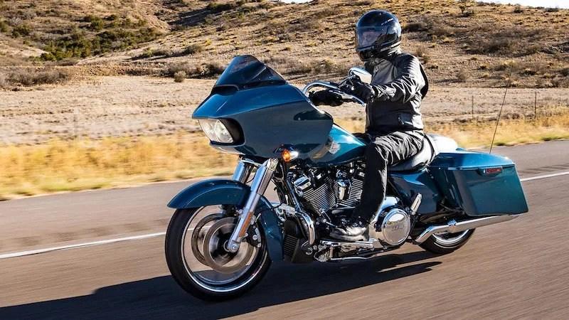 harley-davidson road glide - touring motorbikes