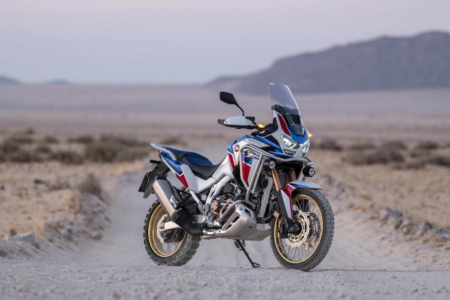 honda africa twin - touring motorbikes
