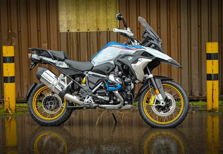 bmw r 1250 gs adventure - not one of the lightest touring motorcycles