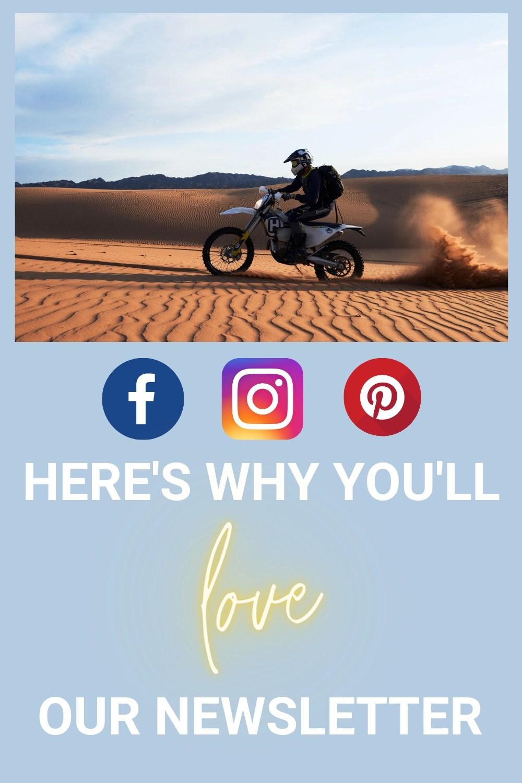 motorcycle tourer newsletter sign up