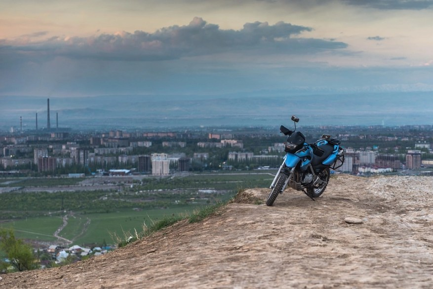 bmw - can touring motorcycles go off-road
