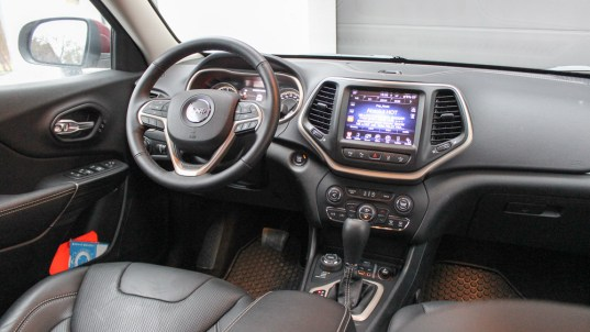 jeep cherokee interieur