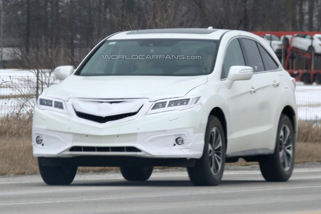 2016 Acura RDX Spied Motor Exclusive