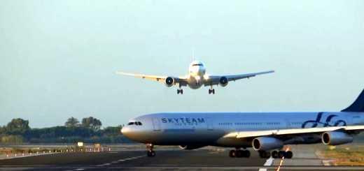 2 avioes quase chocam no aeroporto