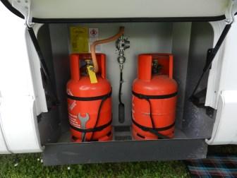Swift Bessacarr 599 gas locker