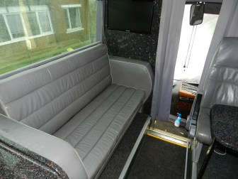 Bus motorhome conversion