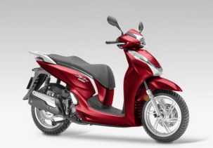 SH300i_Scooter_2015 Pearl Siena Red 1