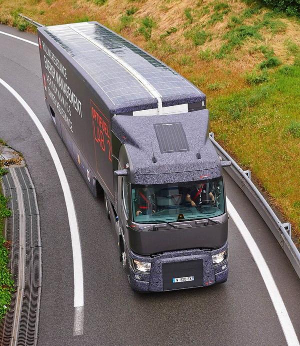 Optifuel Lab 2: Consumi ridotti del 22% per il Renault Trucks