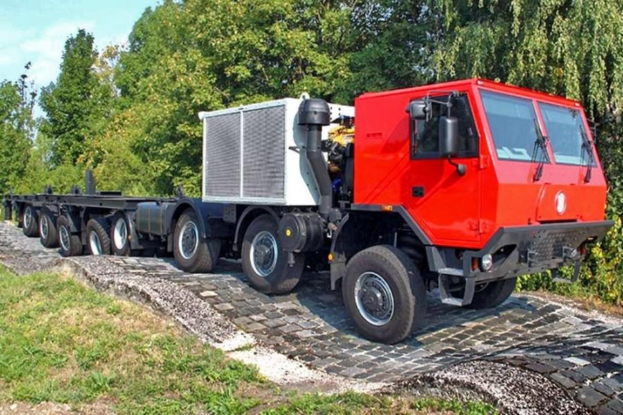 Tatra 20x20, un autocarro eccezionale per trasporti ...