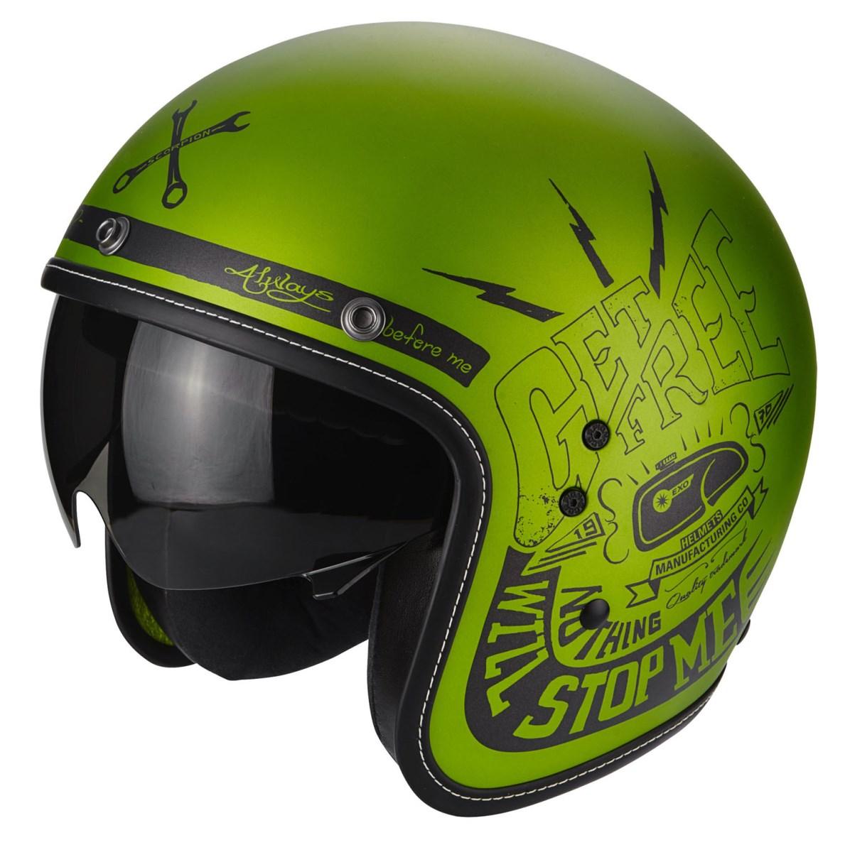 Motori360_SCORPION - BELFAST FENDER green