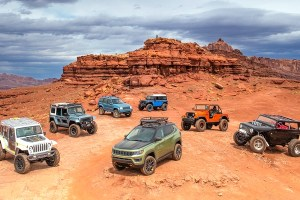 Jeep® concept vehicles at the 2017 Easter Jeep® Safari in Moab
