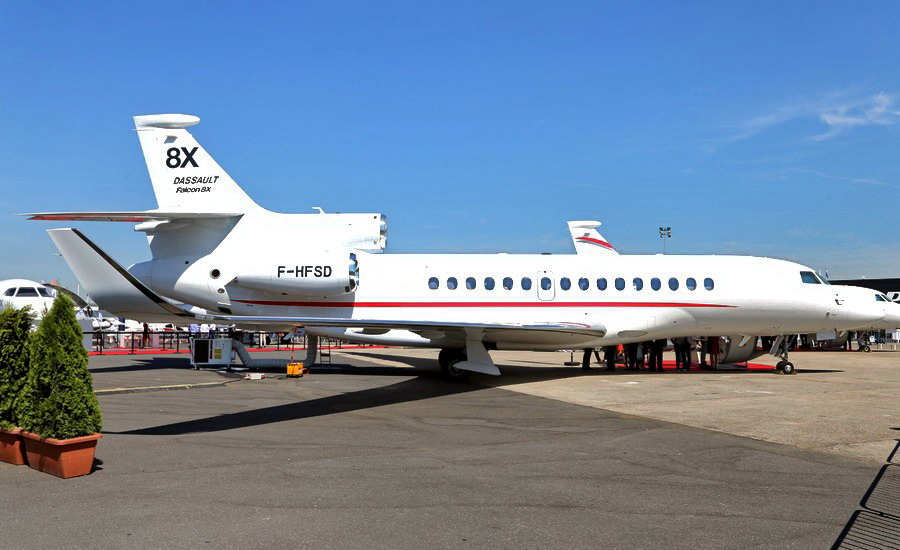 Motori360.it-Paris Air Show 2017-19-Dassault Falcon 8X