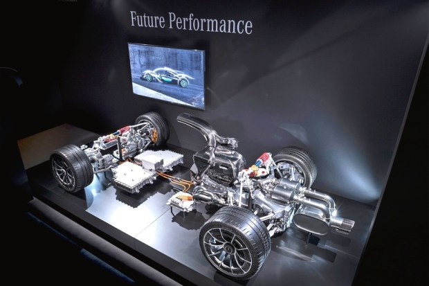 Mercedes-AMG Project-One Powertrain