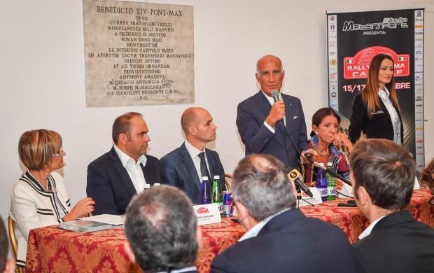 Da sx: Ornella Carnevale, Max Rendina. Daniele Frongia, Angelo Sticchi Damiani e Giuseppina Fusco