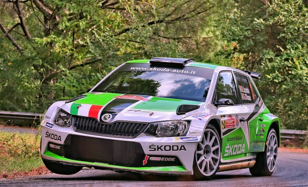 Umberto Scandola, Guido Damore (Skoda Fabia R5 #3, Car Racing)