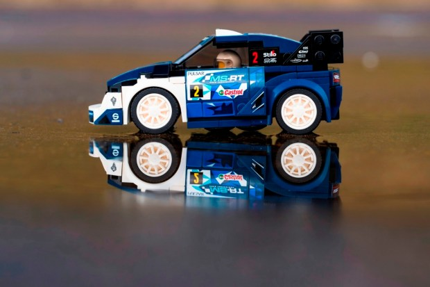 World Championship-Winning M-Sport Ford Fiesta WRC Rally Car Joins Exclusive LEGO® Speed Champions Range