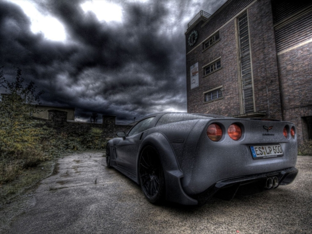LOMA Performance C6.Blackforce One