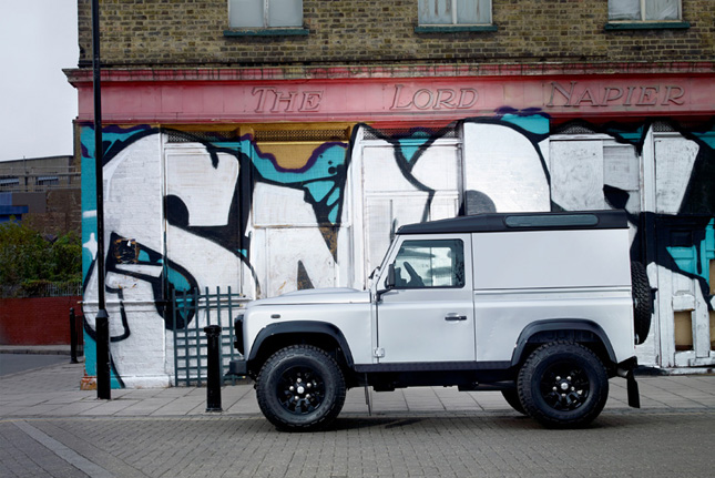 Land Rover Defender X-Tech Limited Edition Exterior