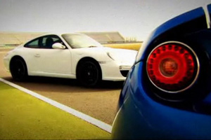 Lotus Evora S vs Porsche 911 Video