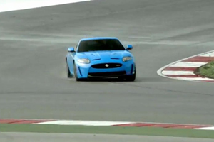 Jaguar XKR-S Video