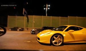 Aston Martin VS Ferrari 458 VS Porsche 911 Turbo VS Audi RS6 – Video