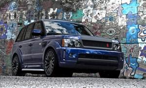 Project Kahn Miyagi Bali Blue Range Rover Sport