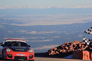 Jeff Zwart Pikes Peak Porsche GT2 RS Video