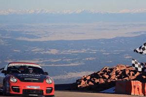 Jeff Zwart Pikes Peak Porsche GT2 RS Video
