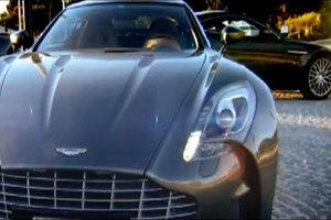 Aston Martin Drives the new One-77 through France