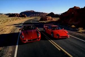 F40 vs 599 GTB Video