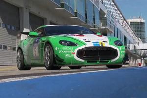 Aston Martin V12 Zagato Nürburgring Video
