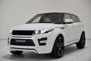 The new Startech Range Rover Evoque Tuning Program