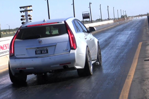 Hennessey Performance Cadillac CTS-V ¼ Mile Video