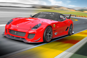 The new Ferrari 599XX with Evolution Package Bows in Bologna