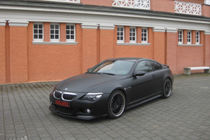 The Giugiardi Design Matte Black BMW M6 with Hamann Styling