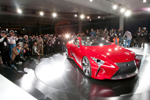The Lexus LF-LC Hybrid Sports Car Concept Exposed