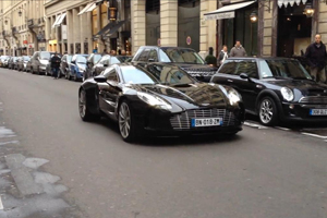 Facepalm: Stalling an Aston Martin One-77 in traffic