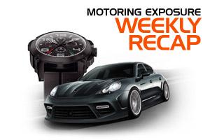 MotoringExposure Weekly Recap 1-21