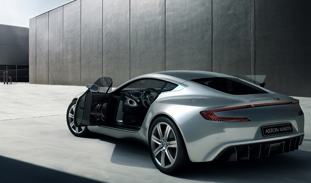 Only one Aston Martin One-77 is left for sale!