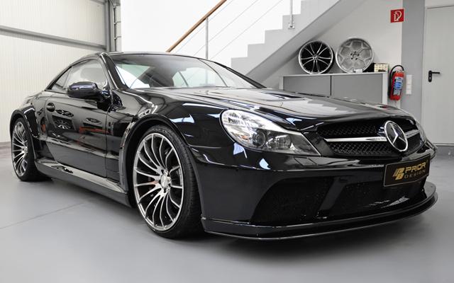 Prior Design Widebody SL BlackEdition Mercedes-Benz