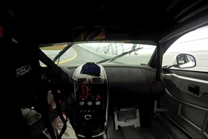 A Lap around Daytona in an Aston Martin Vantage GT4