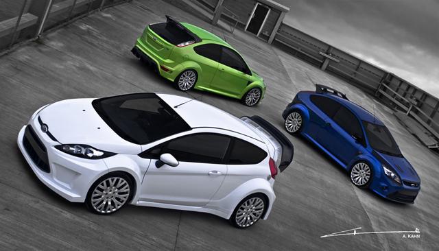 A Kahn Design Fords with Kahn Cosworth Wheels