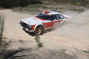 Watch Neal Bates and his Toyota Celica RA40 Rally Car in Australia