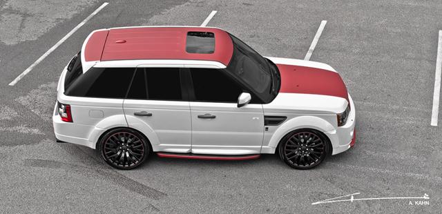 A Kahn Design Range Rover Capital City Edition